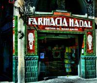 Antigua farmacia de las ramblas
