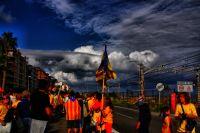 La cadena por su paso en Vilassar de Mar
