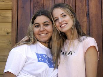 Sara Emdi a les Colònies 2017 d'Adolescents.cat