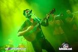 Gala dels Premis Enderrock 2014 Èric Vergés durant l'actuació d'Els Catarres
