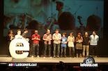 Gala dels Premis Enderrock 2014 Els grans triomfadors de la nit, Els Catarres, recollint 5 premis Enderrock!