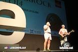 Gala dels Premis Enderrock 2014 Carles Xuriguera i Rafel Faixedas, presentadors de la gala.