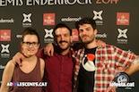 Gala dels Premis Enderrock 2014 Els Catarres