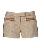 9 shorts d'hivern guapíssims Short de punt marró d'estil parisenc ·Hoss Intropia·