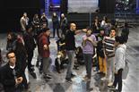 Gala final de la 1a edició de TeenStar Jordi Puig ordenant el galliner