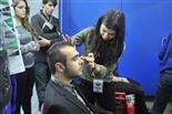 Gala final de la 1a edició de TeenStar Ernest Codina passa per maquillatge, poca cosa poden fer-hi.