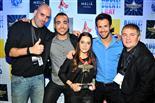 Gala final de la 1a edició de TeenStar Els organitzadors i la guanyadora de Teen Star :)