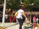 Ofrena floral a Sant Celoni