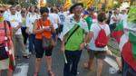 Diada Nacional 2016 concentració independentistes Baix Montseny a Barcelona i Salt