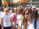 Diada Nacional 2016 concentració independentistes Baix Montseny a Barcelona i Salt  Sant Feliu de Buixalleu