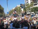 Diada Nacional 2016 concentració independentistes Baix Montseny a Barcelona i Salt  Xics Granollers