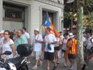 Diada Nacional 2016 concentració independentistes Baix Montseny a Barcelona i Salt  Santa Maria de Palautordera