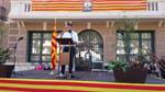 Ofrenes florals i actes institucionals Diada Nacional de Catalunya al Baix Montseny Santa Maria de Palautordera