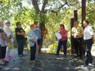 Ofrenes florals i actes institucionals Diada Nacional de Catalunya al Baix Montseny Montseny