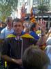 Vallgorguina a la manifestació de l'11S 2012 a Barcelona