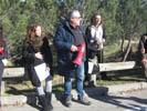Manifestació contra l'asfaltatge de la Carretera de Les Illes a Sant Marçal