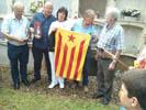 Sant Celoni, Vallgorguina, Montseny i Arenys de Mar porten la Flama del Canigó a la Garrotxa
