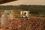 barcelona92 vintage Alegria de l'equip americà després del rècord del món de 4X100