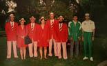 barcelona92 vintage El grup fotografiat a la Rectoria Vella fa 20 anys