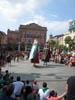 Gegants a la plaça Festa Major 2012 Foto: Jordi Purtí