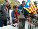 La Flama del Canigó 2015 des de Coll d'Ares al Baix Montseny