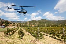 L'Alt Empordà vinícola des de l'aire