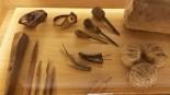 Visita al Museu del Mar Estris de pesca artesanal.