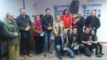 Concurs Fotografia Paisatgística Terres de l'Ebre Els guanyadors en les diverses categories, en l'entrega dels premis, que va tindre lloc a l'Ametlla de Mar.