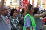 Les cares de l'1 de maig a Tortosa
