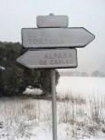 Més imatges de la nevada a les TE