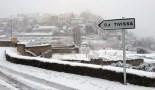 Més imatges de la nevada a les TE Tivissa. Cadena Ser