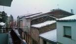 Més imatges de la nevada a les TE Bot. Marta Barón