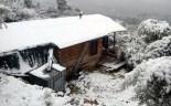 Més imatges de la nevada a les TE Paisatge nevat a Bítem. Laia R
