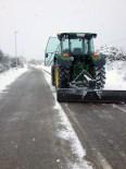 Més imatges de la nevada a les TE Xavier Pallarès