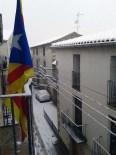 Més imatges de la nevada a les TE Vilalba dels Arcs. David Tormo