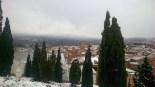 Més imatges de la nevada a les TE Riba-roja d'Ebre. Monica Cid