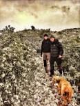 Més imatges de la nevada a les TE Pujada a la Foradada. Rafa Baila