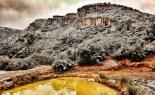 Més imatges de la nevada a les TE El Montsia. Rafa Baila