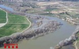 Seguix la crescuda del riu Ebre