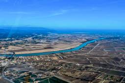 El Delta de l'Ebre des de l'aire