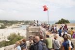 Castells al castell de Sant Jordi, a l'Ametlla de Mar