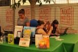 Litterarum i la Fira del Llibre Ebrenc a Móra d'Ebre Foto : S.B.