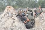 Recreació de la batalla de l'Ebre a La Fatarella