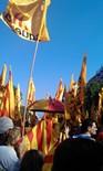 La manifestació del 10-J amb ulls ripollesos Bloc d'ERC. Foto: Carles Àlvarez