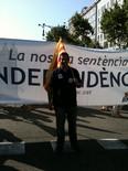 La manifestació del 10-J amb ulls ripollesos Xevi Cima, president de CDC del Ripollès