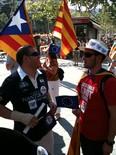 La manifestació del 10-J amb ulls ripollesos El president de CDC-Ripoll, Xevi Ardite