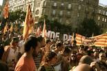 La manifestació del 10-J amb ulls ripollesos Marea independentista. Foto: Marina Cabanis