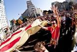La manifestació del 10-J amb ulls ripollesos Marea humana. Foto: Gerard Garcia