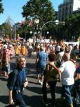 La manifestació del 10-J amb ulls ripollesos Moments abans d'iniciar la manifestació. Foto: Xevi Ardite