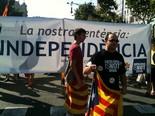 La manifestació del 10-J amb ulls ripollesos El president de la JNC del Ripollès, Eudald Grima. Foto: Xevi Ardite